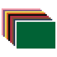 Nature Saver Construction Paper, Smooth, 12 x 18 Inches, Assorted Colors, Pack of 50 Item Number 1312163