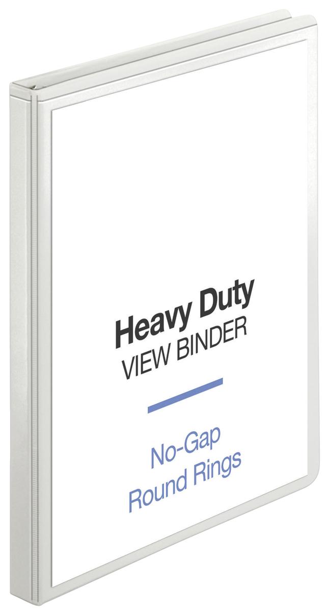 Basic Round Ring Presentation Binders, Item Number 1314239