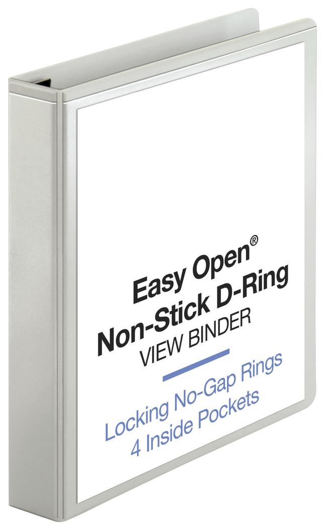 Basic D-Ring Presentation Binders, Item Number 1314396