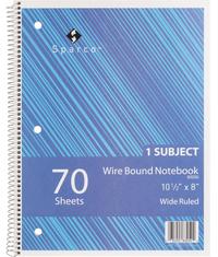 Wirebound Notebooks, Item Number 1314573