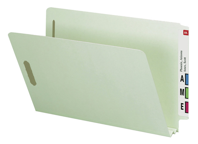 End Tab Fastener Files and Folders, Item Number 1314680