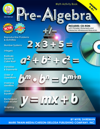 Algebra Books, Algebra Supplies, Item Number 1321309