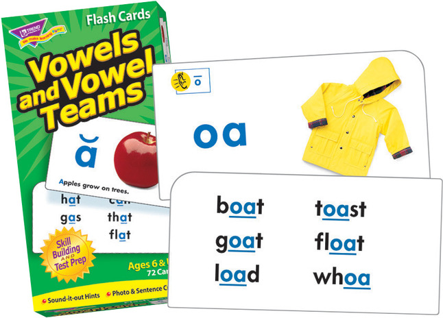FLASH CARDS VOWELS /& VOWEL TEAMS