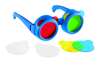 Learning Resources Primary Science Color Mixing Glasses, 9 Pieces Item Number 1329116
