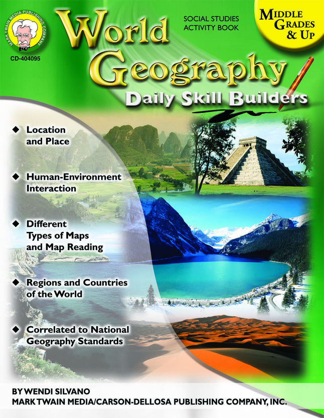 Geography Maps, Resources Supplies, Item Number 1329370