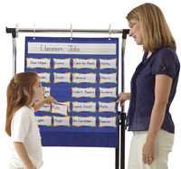Classroom Management Charts, Classroom Management Systems, Classroom Calendar Pocket Charts, Item Number 1329573