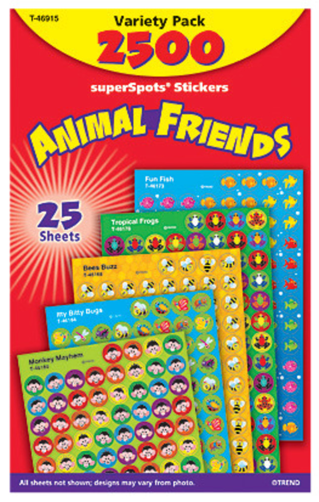 Sticker, Reward and Incentive Charts, Item Number 1330087