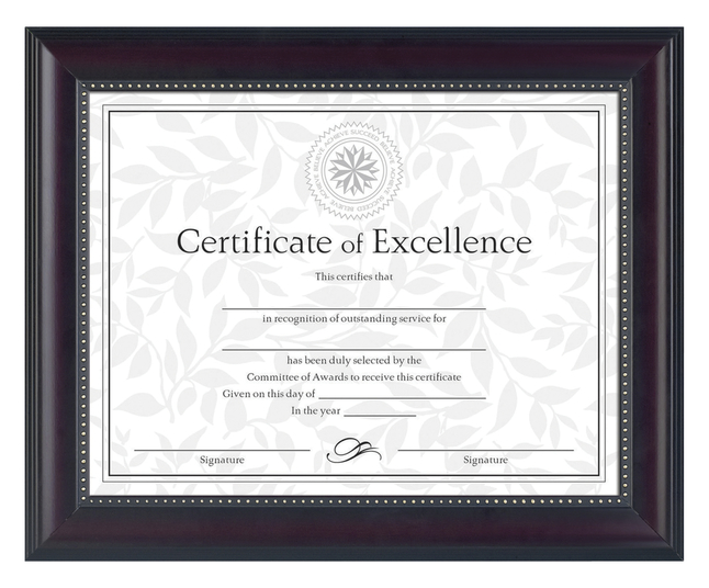 Award Plaques and Certificate Frames, Item Number 1330774