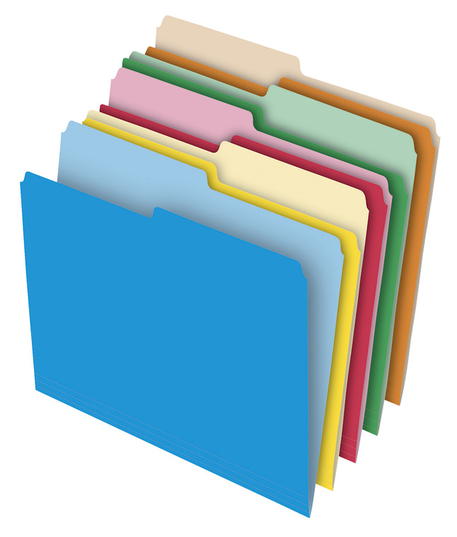 Top Tab File Folders, Item Number 1330861