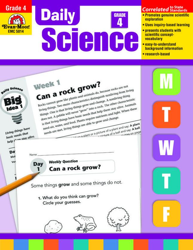 Evan-Moor Daily Science, Grade 4