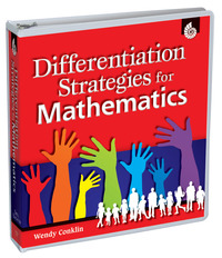Math Strategies, Instruction Strategies for Math, Differentiated Instruction in Math Supplies, Item Number 1334725