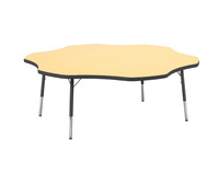 Classroom Select T-Mold Activity Table, Flower, Adjustable Height, 60 Inches, Various Option Item Number 1334866