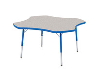 Classroom Select T-Mold Activity Table, Clover, Adjustable Height, 48 Inches, Various Options Item Number 1334861