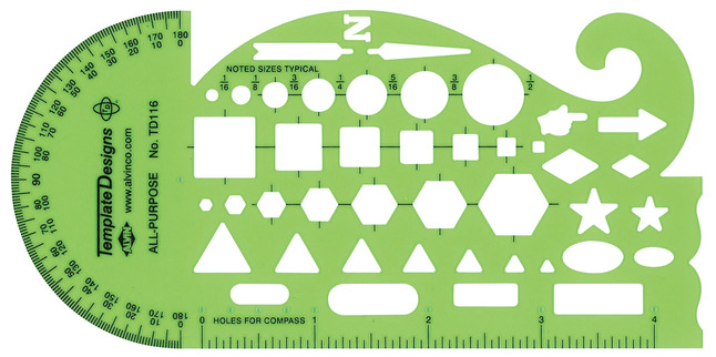 Stencils and Stencil Templates, Item Number 1335308