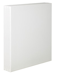 Tara Stretched Back Stapled Cotton Canvas, 8 x 10 Inches, White, Pack of 3 Item Number 1358175