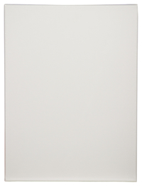 Tara Stretched Back Stapled Cotton Canvas, 12 X 16 in, White, Pack of 3 Item Number 1358178