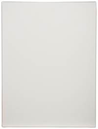 Tara Stretched Back Stapled Cotton Canvas, 18 X 24 in, White, Pack of 3 Item Number 1358180