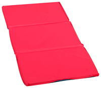 Angeles 3-Fold Nap Mat 1 Inch, 24 x 48 x 1 in, Red/Blue Item Number 1359967