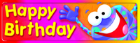 Trend Enterprises Frog-tastic! Happy Birthday Bookmarks, 2 x 6-1/2 inches, Pack of 36 Item Number 1361757