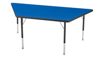 Classroom Select LockEdge Activity Table, Trapezoid, 48 x 24 Inches, Various Options Item Number 1362567
