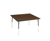 Classroom Select LockEdge Adjustable Activity Table, Square, 48 x 48 Inches, Various Options Item Number 1362583