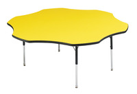 Classroom Select LockEdge Activity Table, Flower, 60 Inches, Various Options Item Number 1362588