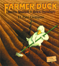 Mantra Lingua Farmer Duck, Spanish and English Bilingual Book Item Number 1365971