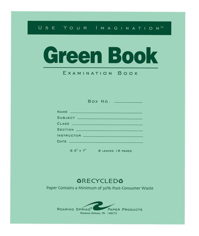 Exam Books, Item Number 1368692
