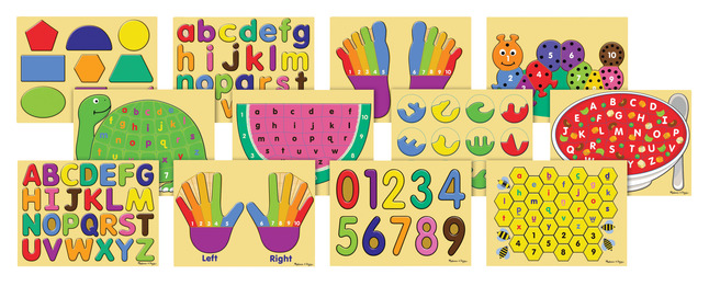 Early Childhood Jigsaw Puzzles, Item Number 1368715