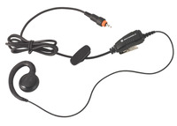 Motorola HKLN4455 Swivel Headset with In-Line Push-to-Talk Mic, Black Item Number 1369249
