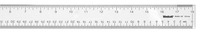 Westcott Edge See-Through Acrylic Ruler, Metric and Standard, 18 Inches, Clear Item Number 1369960