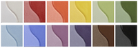 Sax True Flow Underglaze Set, Assorted Colors, Set of 12 Pints Item Number 1371408