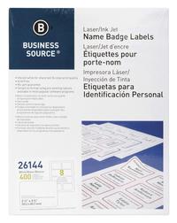 Name Badge Labels, Item Number 1376546