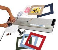 Logan Elite 350-1 Compact Mat Cutter, 32 Inches Item Number 1379956