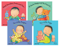 Child's Play English and Spanish Language Baby Board Book Set Item Number 1380282
