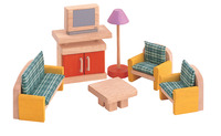 Plantoys Colorful Furniture Living Room Set Item Number 1382433