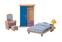 Plantoys Colorful Furniture Bedroom Set Item Number 1382435
