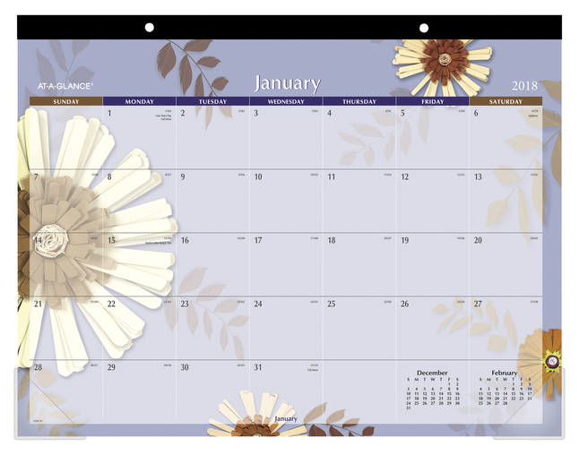Daily Planner and Calendars, Item Number 1383050