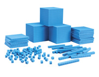 Base 10 Blocks, Place Value, Base 10, Base 10 Math Supplies, Item Number 1391634