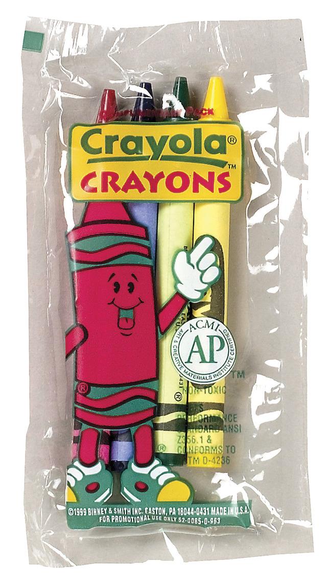 Standard Crayons, Item Number 2019594