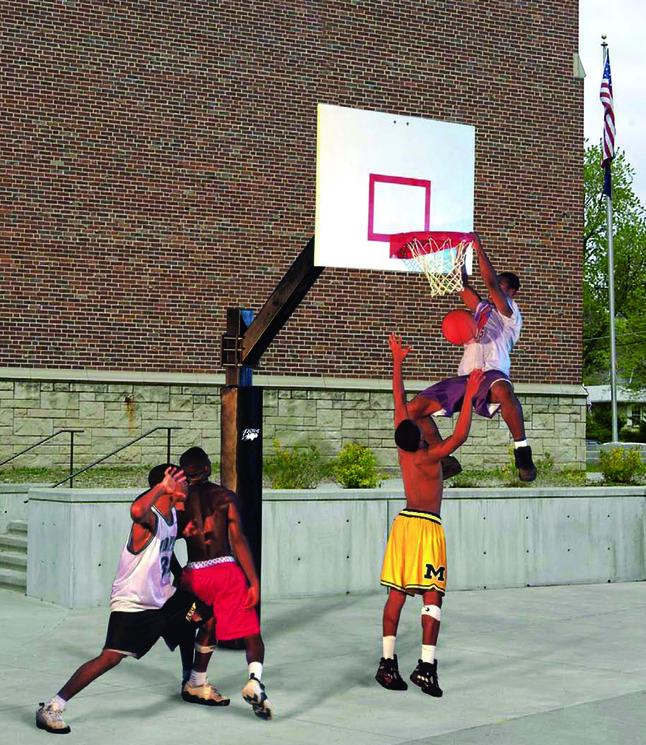 Outdoor Basketball Playground Equipment Supplies, Item Number 1393533