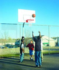 Outdoor Basketball Playground Equipment Supplies, Item Number 1393541