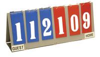 Scoreboards, Scoring Equipment, Item Number 1394123