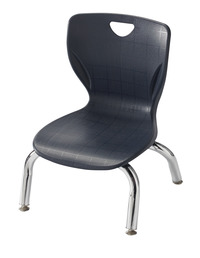 Classroom Select Contemporary Chair, 8 Inch Seat Height, Chrome Frame, Various Options Item Number 1395297
