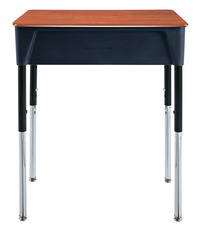 Classroom Select Contemporary Open Front Desk, 18 x 24 Inch Hard Plastic Top, Various Options Item Number 1388734
