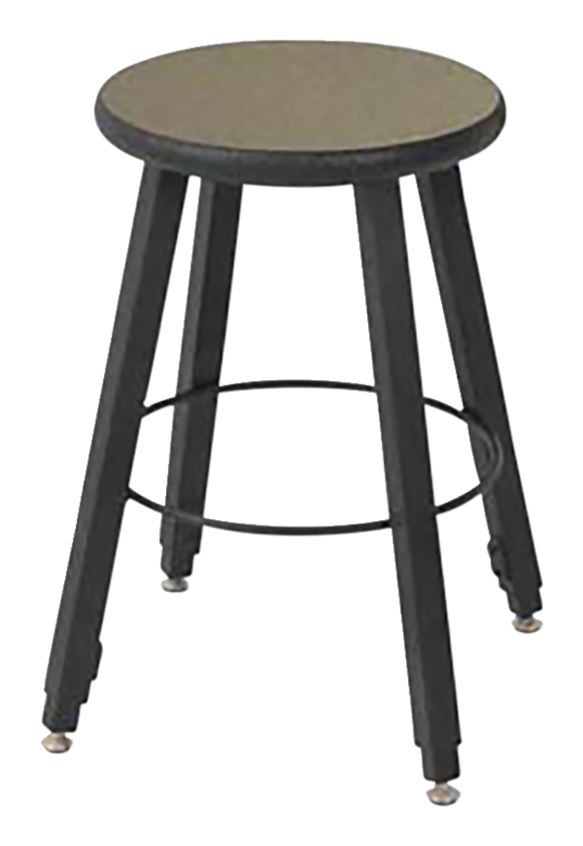 Peachy Wisconsin Bench 4 Leg Adjustable Height Stool 18 To 24 Inch Seat Laminate Seat Various Options Inzonedesignstudio Interior Chair Design Inzonedesignstudiocom