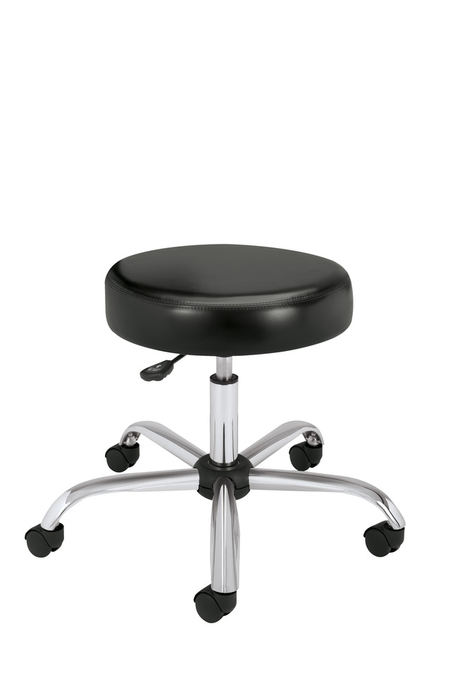 Fantastic Hon Adjustable Stool With Swivel And Padded Seat Vinyl Cover 24 1 8 X 27 1 4 X 17 3 8 22 Inches Black Machost Co Dining Chair Design Ideas Machostcouk