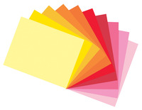 Tru-Ray Sulphite Construction Paper, 9 x 12 Inches, Assorted Warm Color, 50 Sheets Item Number 1398064