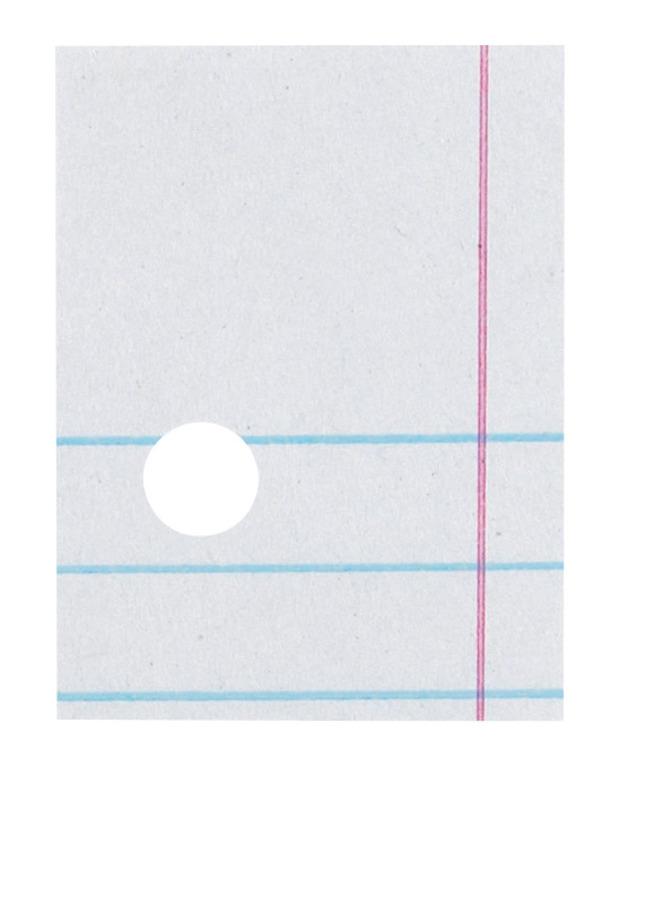 Notebooks, Loose Leaf Paper, Filler Paper, Item Number 1398096