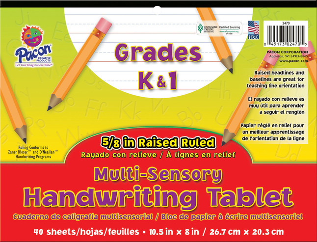 Lined Paper, Primary Ruled Paper, Item Number 1398071